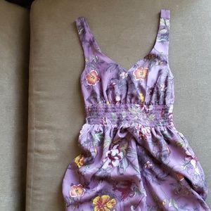H&M Purple Floral Dress